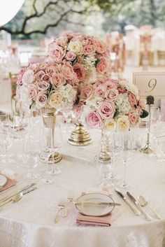 20 Stylish Soft Pink and Blush Wedding Ideas - MODwedding