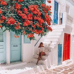 #mykonos #greece 🙈🌺