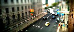 Street Photography Taken With Tilt Shift Lens