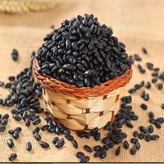 2017 Acacia lotus Green Core black beans farm grown grains of black bean seed free postage a bag of 10 seed