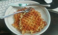 30 days of waffles. Day#3 Thankgiving Leftover Waffle!
