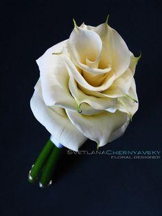 Composite bouquet of calla lilies