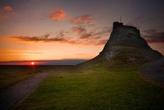 Lindisfarne Forts, Cathedrals, Castles, Monument Valley, Watercolor Paintings, Sunrise, Landscapes, Spirituality, Around The Worlds