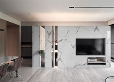 Since its introduction into the homes in the mid century, the television screen becomes almost inseparable part from the main social areas design, lately, Fireplace Accent Walls, Tv Fireplace, Relax House, Modern Tv Wall, Wooden Tv Stands, Tv Wall Decor, Urban Decor, Tv Wall Design, Interior Decorating