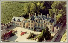 This is in Napa! The Domaine Carneros château is a landmark of the Carneros region. Completed in 1989, the classic 18th century château-style building was architecturally inspired by the historic Taittinger-owned Château de la Marquetterie in Champagne.