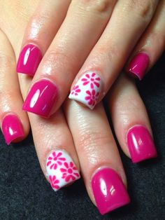 pretty acrylic nail designs for 2015