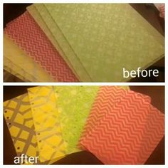 From fb...Plastic placemats cut into A5 dividers.  This would be great in mini albums or ones made in binders!