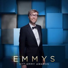 Did you see the fantastic @stephenmerchant at the #Emmys? Sponsored by @ChaseSapphire Preferred  Watch NOW on @foxtv, and get the all-access view on emmys.com/bsl!  #cinemagraph by @FlixelPhotos