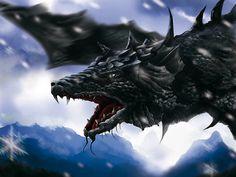 dragons | Black Dragon wallpaper from Dragons wallpapers