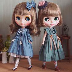 ܾ ܾ 𖥧𓇣𖦥𖥧𖥣 . 苔と紅葉の組み合わせ、和を感じます◟̆◞̆ . #ブライス #カスタムブライス #blythe #customblythe #keyringcustomdoll #keyringcustom #kinokosupa #chibidoll #チビドール… New Dolls, Ooak Dolls, Blythe Dolls, My Doll House, Smart Doll, Custom Dolls, Ball Jointed Dolls, Handmade Clothes, Big Eyes