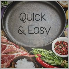 Quick and easy lamb recipes Easy Lamb Recipes, Quick Recipes, Real Food Recipes, Lamb Chops, Recipe Collection, Clean Eating, Goodies, Nutrition, Favorite Recipes