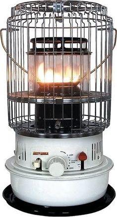 Dura Heat DH1051 Indoor Kerosene Heater - 10,500 Btu's DH1051 Best Space Heater, Kerosene Heater, Radiant Heat, Central Heating, Heating And Cooling, Compact, Wicked, Home Improvement, Indoor
