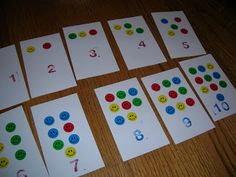 Counting and Number Recognition Activity