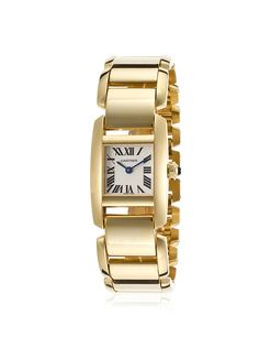 Cartier W650067H-PO Women's Tankissime 18K Gold Ivory Dial * Find out more about the great watch at the image link.
