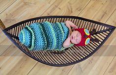 PDF Caterpillar Cocoon and Beanie Chunky yarn by JTeasycrochet, $4.99