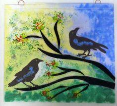 "Tam Johannes Design -- ""Two Ravens in a Tree"" -- http://www.tamjohannesdesign.blogspot.com/"