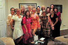 Host an ugly dress party<----Great idea! Looks fun. :)