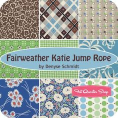 Fairweather Katie Jump Rope by Denyse Schmidt for Free Spirit Fabrics - November 2015