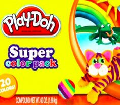 Babybear's Freebies, Sweeps and more!: Target: Play-Doh Super Color Pack 20-Count – Only ...