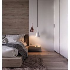 Minimalist Bedroom Design Ideas For Modern Home Decor On a budget - Less is more might sound like a vapid expression. However with the minimalist design trend, that's the spirit of this philosophy of design small bedroom. Bedroom Ideas For Couples Modern, Modern Bedroom Design, Contemporary Bedroom, Modern Bedrooms, Bedroom Designs, Master Bedrooms, Modern Design, Modern Beds, Modern Room