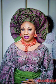 Nigerian Bride www.weddingdigestnaija.com