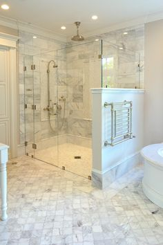 28 Master Bathroom Ideas to Find Peace and Relaxation Is your house in demand of a washroom remodel? Give your washroom layout a boost with a little preparation as well as our motivational washroom remodel suggestions. Bathroom Remodel Shower, Bathroom Remodel Master, Bathroom Makeover, Diy Bathroom Decor, Master Bathroom Renovation, Bathroom Design, Bathroom Decor, Beautiful Bathrooms, Bathroom Redo
