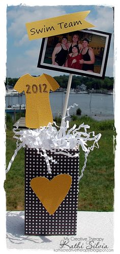 Photo graduation centerpiece