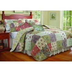 #8: Greenland Home Blooming Prairie King Quilt Bonus Set