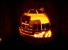 Pumpkin carving R2D2