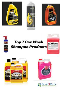 Car wash kit 10 auto detailing supplies you car care products choosing which car wash shampoo your car needs can be daunting with all the products available in the market right now solutioingenieria Choice Image