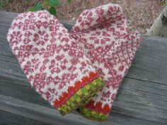 Latvian mittens- my grandmother used to make these