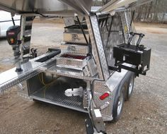 Kodiak Cub Trailer: click to enlarge Bug Out Trailer, Work Trailer, Trailer Tent, Trailer Build, Camper Trailers, Campers, Trailer Organization, Trailer Storage, Farrier Supplies