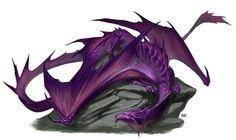 Amethyst Dragon by BryanSyme.deviantart.com on @DeviantArt