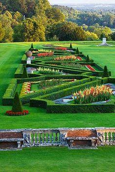 Parterre, Cliveden, Buckinghamshire