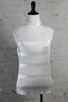 Nicola Women's White 100% Polyester Halter Blouse L #Nicola #Halter #Casual