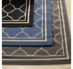 Use outdoor rug for indoor high traffic area to have longer life