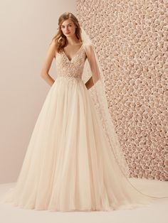 0823bfe669127c marvellous wedding dress evasé with illusions