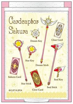Cardcaptor Sakura: Clear Card: Mini Mirror Icon Yellow by T's FactoryYou can find Cardcaptor sakura and more on our website.Cardcaptor Sakura: C. Cardcaptor Sakura, Sakura Card Captor, Manga Anime, Anime Art, Sailor Moon Wallpaper, Card Tattoo, Girls Anime, Clear Card, Anime Tattoos