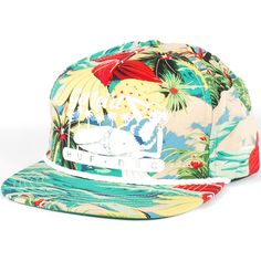 Huf Get Lei'd Snapback Hat (Tropical) $35.95