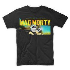 Rick and Morty - MAD MORTY!!! t-shirt