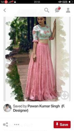 Beautiful Ethnic Outfit for women Choli Designs, Fancy Blouse Designs, Lehenga Designs, Saree Blouse Designs, Indian Gowns Dresses, Indian Fashion Dresses, Indian Designer Outfits, Designer Dresses, Long Dress Design