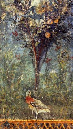Fresque romaine (Pompei ?)♥♥♥