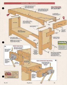 Coupon Michaels Arts And Crafts Info: 8816135055 Woodworking Bench Plans, Workbench Plans, Woodworking Shop, Woodworking Projects, Workshop Storage, Diy Workshop, Diy Wooden Projects, Wooden Diy, Tool Bench