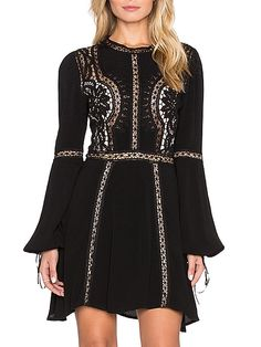 Shop Black Bell Sleeve Hollow Slim Dress online. SheIn offers Black Bell Sleeve Hollow Slim Dress & more to fit your fashionable needs.