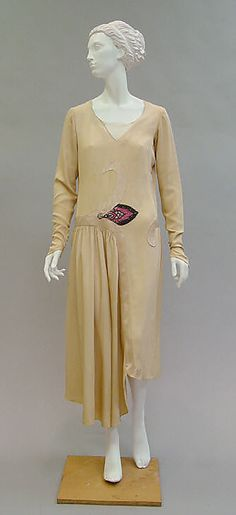 Paul Poiret  (French, Paris 1879–1944 Paris)    Date:      ca. 1929  Culture:      French  Medium:      silk, glass