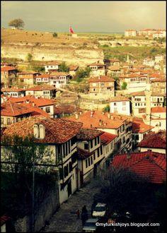 Wandering the streets of Safranbolu, Turkey