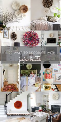 20 Ways to Decorate with African Juju Hats - Feather Headdresses - Interior Design