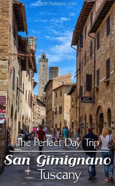 How to spend one perfect day in San Gimignano, Italy. This is one of the more popular hill towns to visit in Tuscany. Here are ideas of what to do and where to eat. San Gimignano makes a great day trip from Florence or Siena.