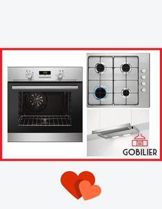 Luna iubirii la #Gobilier #💏 Reduceri pentru casa ta cea nouă in care te vei muta alături de persoana #iubita. Electrocasnice de la #electrolux - pachete diverse personalizate cuptor+plita+hota. Pachetul #inox din imagine la doar 1800 lei redus de la 2677 lei. Livrare rapida, calitate garantată! #☎️ 0748048048 #📧 contact@gobilier.ro Oven, Kitchen Appliances, Diy Kitchen Appliances, Home Appliances, Ovens, Kitchen Gadgets