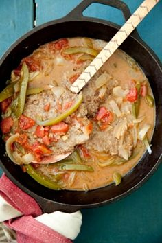 Swiss Steak #pauladeen.com